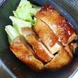簡単!かりかり鶏の甘辛ソテー