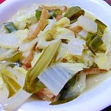 白菜めかぶ煮