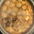 ポカポカ温まる!肉だんご入りキムチ鍋