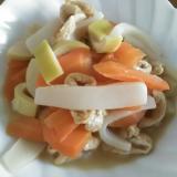 タケノコ・人参・油揚げ・こんにゃくの煮物