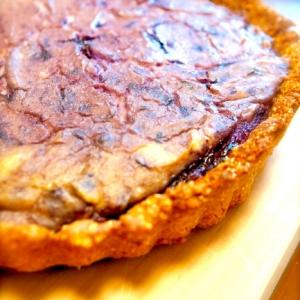 ブルーベリー豆腐チーズケーキ