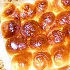 バターロール生地で☆ちぎりパン