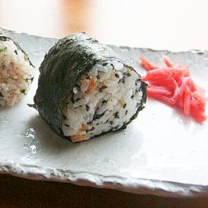 お魚食べてネ!お握り♪(鮭フレーク&明太子ほか)
