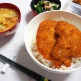 故郷の味☆ソースカツ丼