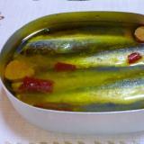 オイルサーディン★いわしの丸干し、圧力鍋で簡単♪