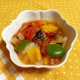 レンジで手軽に!夏野菜のラタトゥイユ風♪