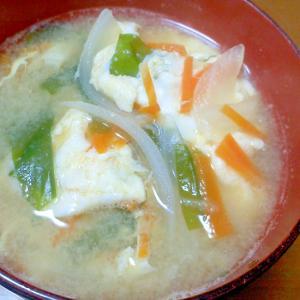 にんじんの味噌汁