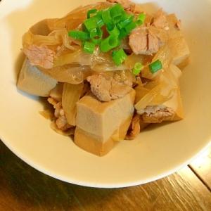 玉ねぎと高野豆腐の煮物