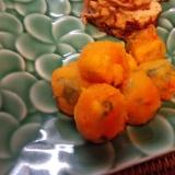 野菜嫌いな子供に かぼちゃボール