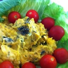 ウマウマかぼちゃのサラダ
