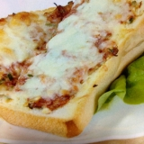 コンビーフチーズトースト
