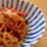 根菜と椎茸の炒め煮