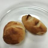レンジとオーブンで時短パン