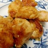鶏のわさび醤油焼き