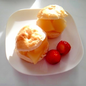 煮りんごで簡単シナモンアップルサンド
