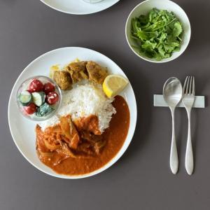 簡単! 野菜のみ インド風 オクラカレー