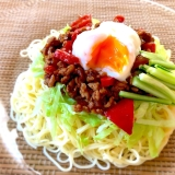 糖質制限♡糖質0麺で野菜たっぷりジャージャー麺
