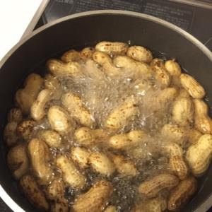 簡単 塩茹でピーナッツ