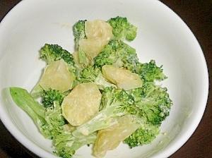 ポテトとブロッコリーのほくほくマヨ和え