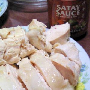 炊飯器で海南鶏飯