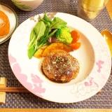 ふっくら♡豆腐ハンバーグ