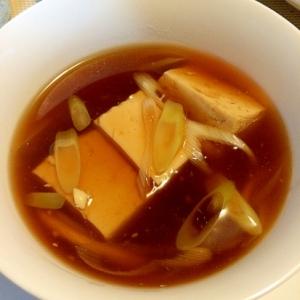 温まる☆あんかけ豆腐