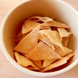 セモリナ粉でトルティーヤチップス