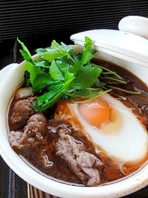 ひとり鍋♪肉豆腐