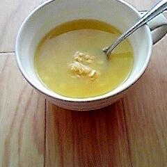 簡単☆オレンジジュースのオートミール粥