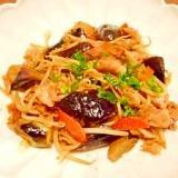 茄子とモヤシ☆豚バラ肉炒め