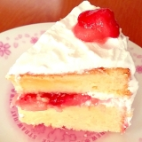 記念日などに☆手作りイチゴケーキ♪