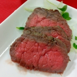 肉の塊がお安かったら!即ローストビーフ♪