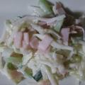 大根ときゅうりとハムのくったりサラダ