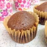 チョコカップケーキwithホットケーキミックス