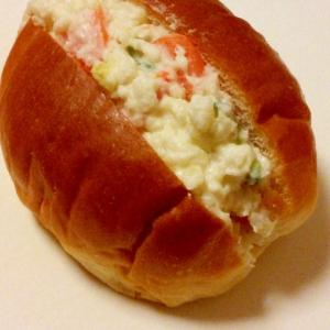こしょうがアクセント☆ポテトサラダサンドイッチ