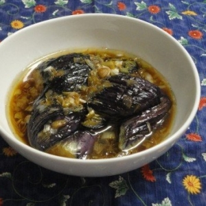 おすすめ!ピリ辛☆茄子の中華風炒め漬け
