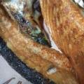 サーモンハラスの塩焼き