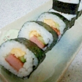 恵方巻きにもどうぞ♪スパム巻き寿司
