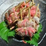 ちくわと紅生姜の天ぷら