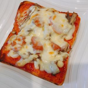 朝ごはんにぴったり!ピザ風トースト