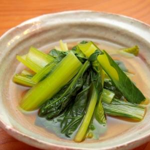 簡単!小松菜のにんにくしょうが煮