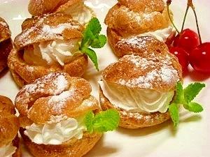 ホットケーキ粉で☆シュークリーム