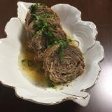 豚肉とキャベツのミルフィーユロール