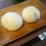 自家製酵母♪クランベリーとクリームチーズの白パン