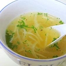 大根コンソメスープ