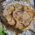 激うま。チーズフォンデュ風鶏のホイル焼き