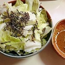 シンプルキャベツサラダ