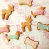 アイシング☆ジンジャーブレッドクッキー