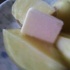 北海道レンジでおいしい☆じゃがバター