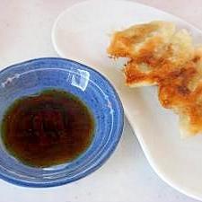 中華料理店の餃子のたれ